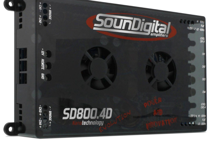 Soundigital SD800.4D 800W