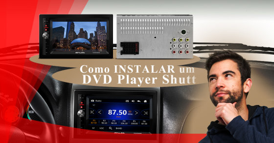 Como Instalar um DVD Player Shutt: Chicote Plug and Play